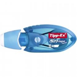 TIPP-EX - Micro Tape Twist correccin de pelculo/cinta 8 m Azul 10 piezas