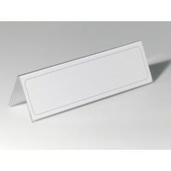 Durable - 8053-19 portanombre no metlico Transparente