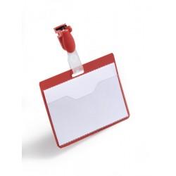 Durable - 810603 insignia/pase Placa identificativa 25 piezas