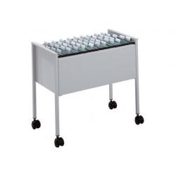 Durable - 309510 carrito para libros Gris