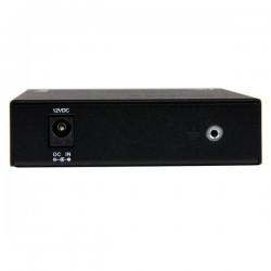 StarTechcom - Conversor de Medios Ethernet 10/100 Mbps a Fibra Multi Modo Conector ST - 2km