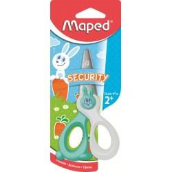 Maped - 037800 tijera de escritorio y manualidades Tijeras de manualidades Corte recto Multicolor