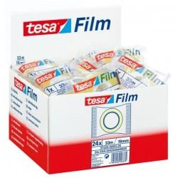 TESA - Film Standart 19mm x 33m cinta adhesiva Transparente