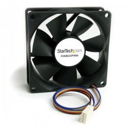 StarTechcom - Ventilador Fan para Chasis Caja de Ordenador PC Torre - 80x25mm - Conector PWN