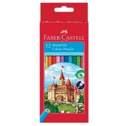Faber-Castell - 120112 lapiz de color 12 piezas Multicolor