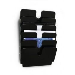 Durable - 1700014061 estantera para libros 1 estanteras Negro