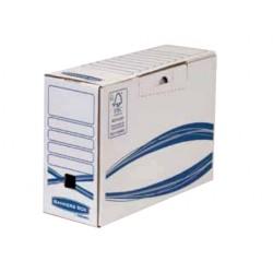 Fellowes - 4460201 empaque Caja de cartn para envos Azul Blanco