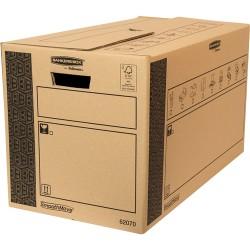 Fellowes - 6207002 empaque Caja de cartn para envos Negro Marrn 1 piezas