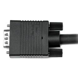 StarTechcom - Cable de Vdeo VGA de 2m para Monitor de Ordenador - HD15 Macho a Macho - Negro