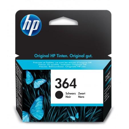 HP - 364 1 piezas Original Rendimiento estndar Negro