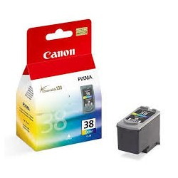 Canon - CL-38 Original Cian Magenta Amarillo 1 piezas