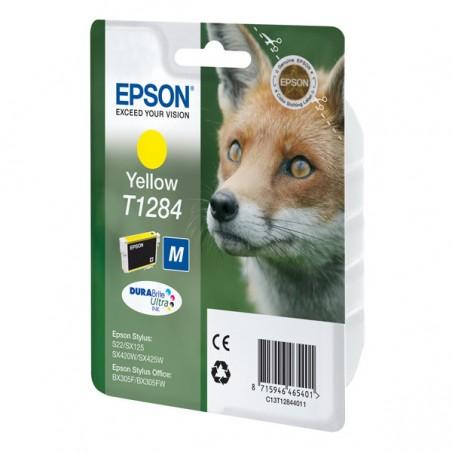 Epson - Fox Cartucho T1284 amarillo - C13T12844011