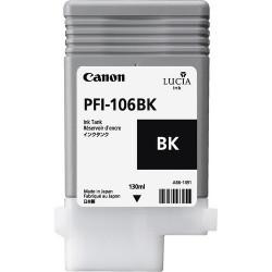 Canon - PFI-106 BK cartucho de tinta Original Foto negro 1 piezas