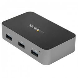StarTechcom - Hub USB-C de 4 Puertos - 10Gb - Alimentado - 4xUSB-A