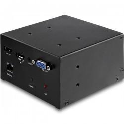 StarTechcom - MOD4AVHD puente de conferencia AV 3840 x 2160 Pixeles Ethernet Negro