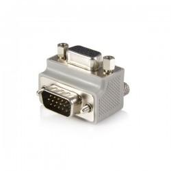 StarTechcom - Right Angle VGA / VGA Cable Adapter Type 1 - M/F DB15 Gris