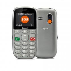Gigaset - GL390 559 cm 22 88 g Gris Telfono para personas mayores