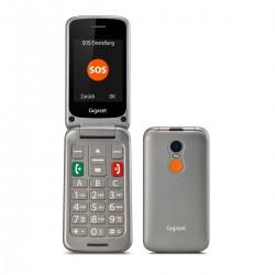 Gigaset - GL590 711 cm 28 113 g Gris Telfono para personas mayores