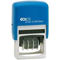 Colop - Printer S 220 Automtico Sello de texto/fecha De plstico