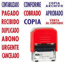 Colop - SELLO DE ENTINAJE PRINTER FORMULA PAGADO COLOP 151710