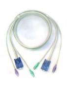 Cables Para Video, Teclado Y Ratones (Kvm)